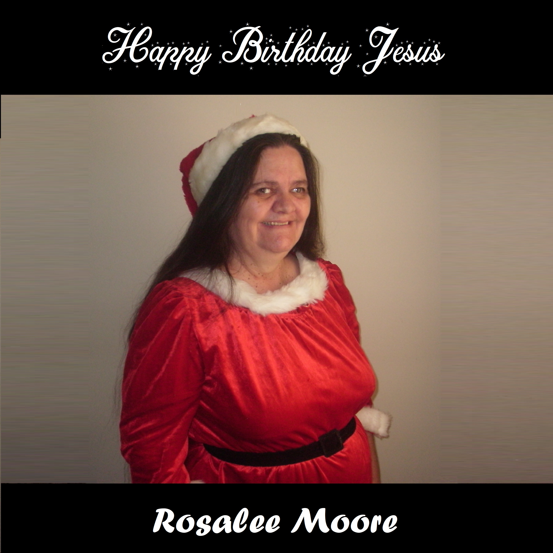 Happy Birthday Jesus Cover by Rosalee Moore